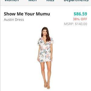 Show me your mumu Austin dress